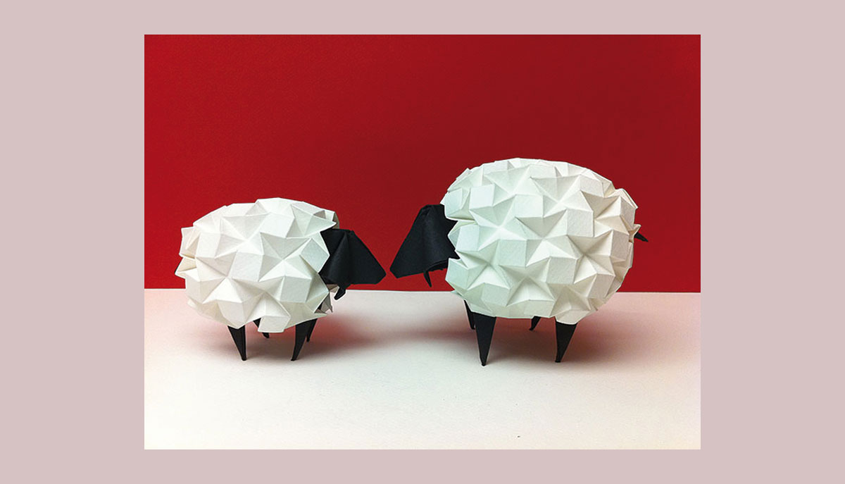 Pliage origami, l'effet popup
